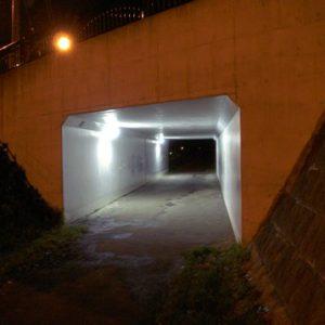 北海道札幌市【中の川トンネル】