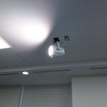【文部科学省】様 記者会見室スポットライトLED照明化