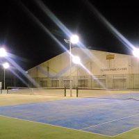 【エステス・テニスパーク】様-屋外テニスコート完全LED化-